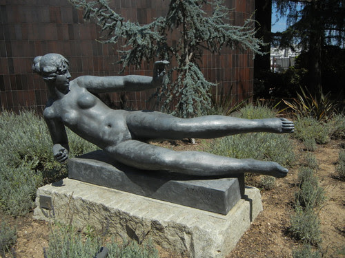DSCN7728 _ Air, 1938, Aristide Maillol (1861-1944), Norton Simon Museum, July 2013