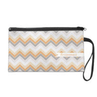 Sandy Beach {chevron pattern} Wristlets