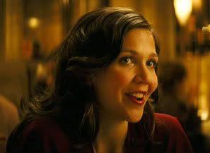 Maggie Gyllenhaal as Rachel Dawes.