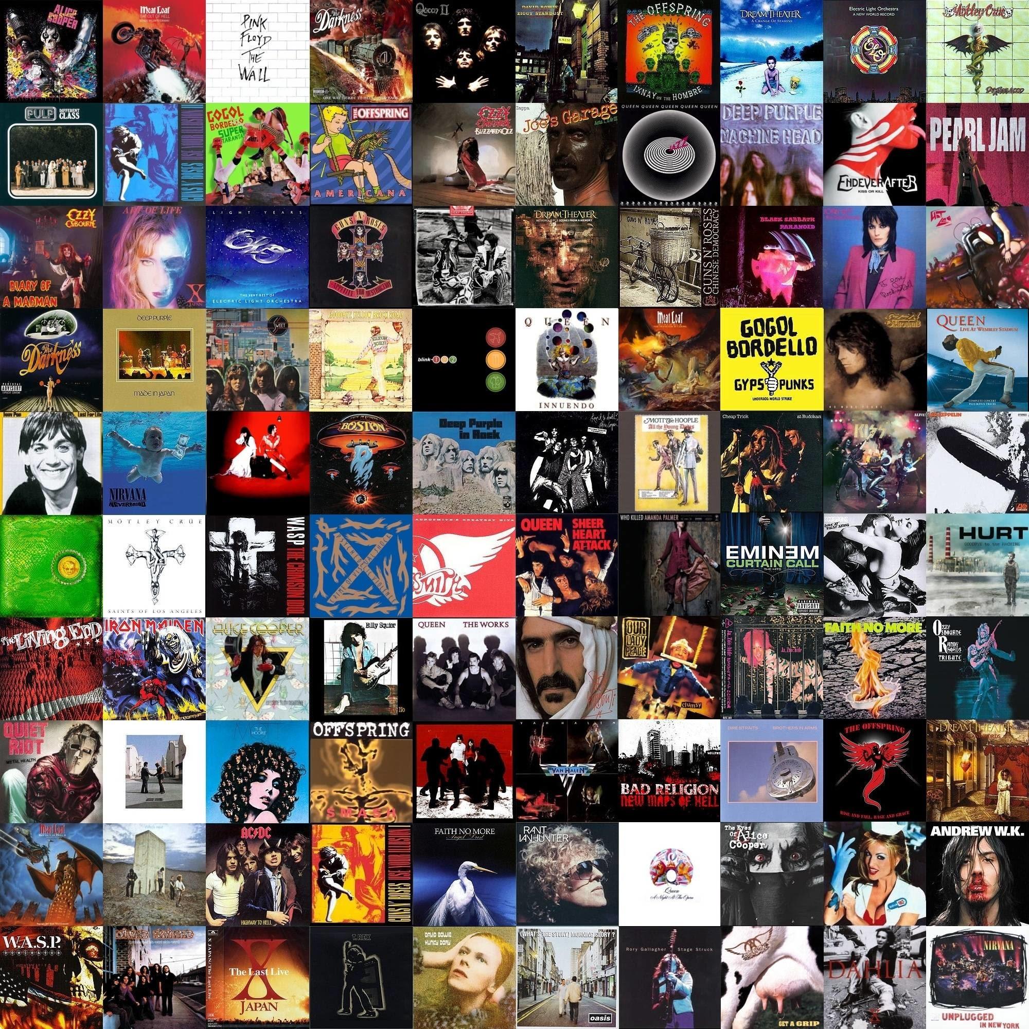 Classic Rock Album Covers Wallpaper 63 Images
