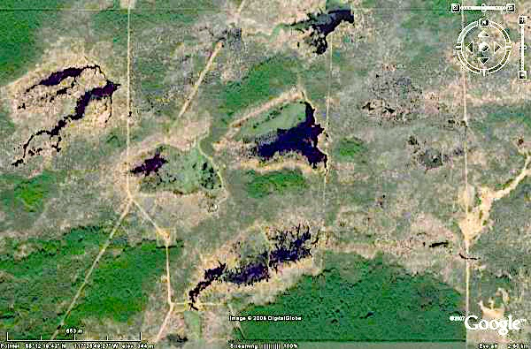 Worlds longest beaver dam found with google earth google product figure 3 this nasa world wind pseudo colour landsat image 2000 shows the broader landscape setting of this high density beaver area publicscrutiny Images