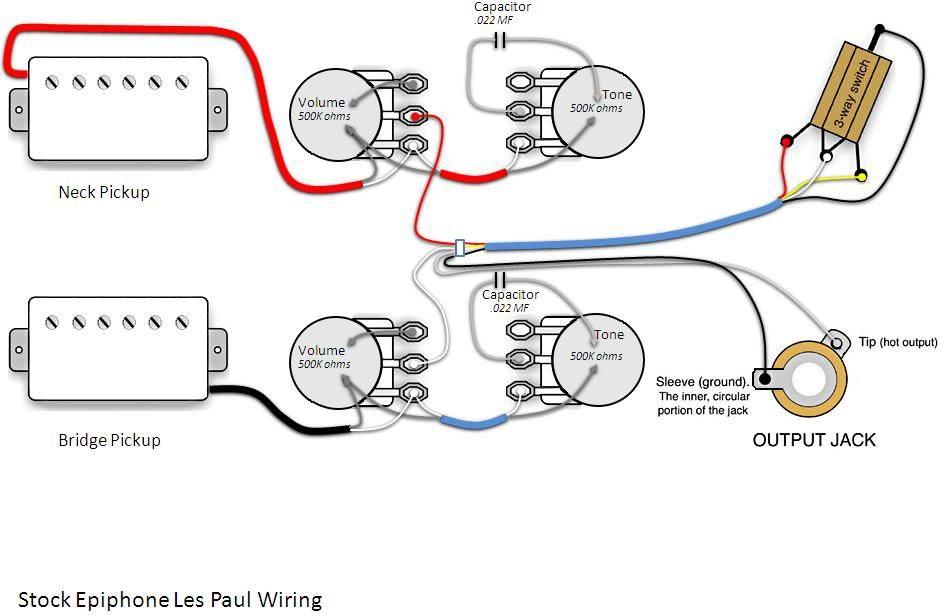 epiphone wiring diagram of 300 s image 2