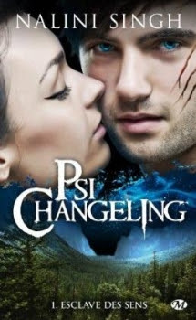 Couverture Psi-changeling, tome 01 : Esclave des sens