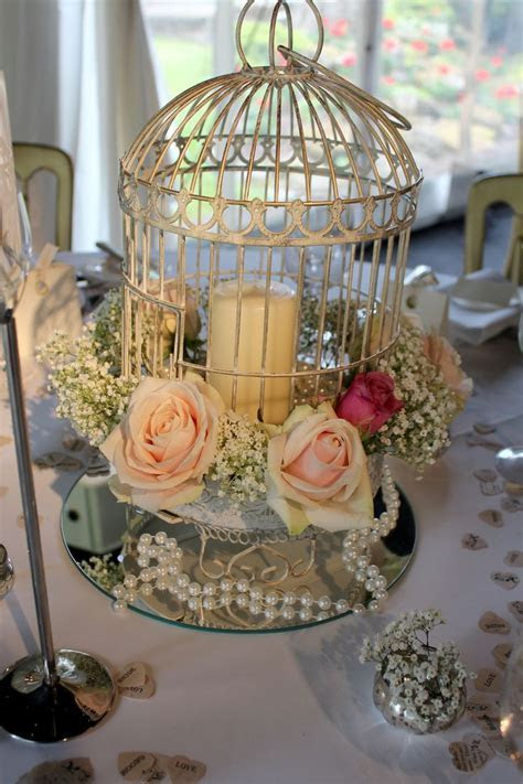Bird Cage Table Decoration   Wedding Ideas   Pinterest