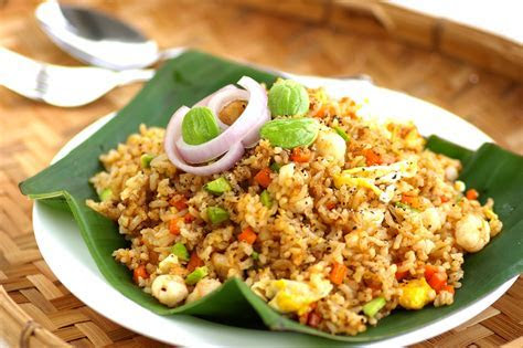 Black Pepper Petai Fried Rice   Kuali