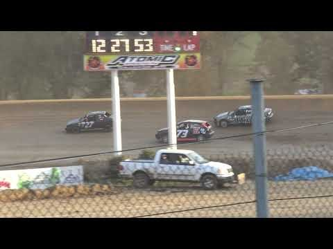 Atomic Speedway | 10/19/19 | 10th Annual King of Compacts Presented by EBJ Performance | Heat 1