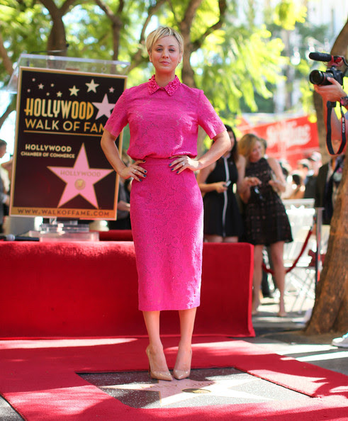 Kaley Cuoco - Kaley Cuoco Honored on the Walk of Fame