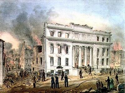 Ruins Of The Merchants Exchange, New York