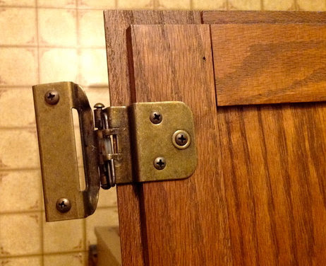 Have you seen these kitchen cabinet hinges?