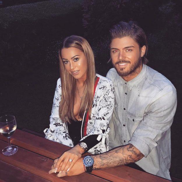Sam Reece and Harriette Harper hint at engagement