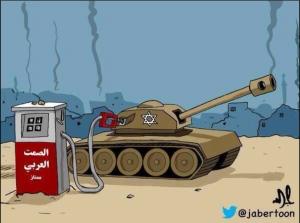 השתיקה הערבית מתדלקת את תוקפנות ישראל
