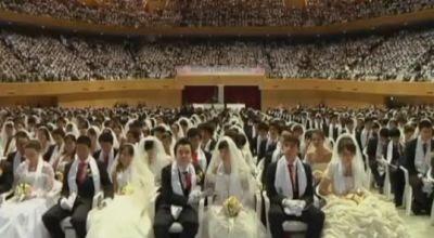 Nikah massal di Korea Selatan (Foto: Telegraph)