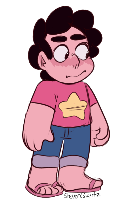 """favourite gems"" –there can be only one. At least I have an excuse to draw Steven again. [Commission me!]"