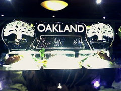 Oakland Ice Sculpture At The Dellums Black-Tie Party