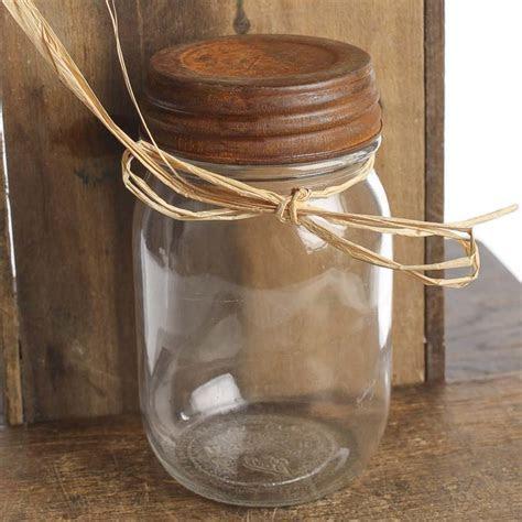 Rusty Tin Mason Jar Lid   Jars, Lids and Pumps   Primitive