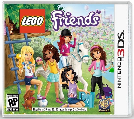 LEGO Friends Nintendo DS game