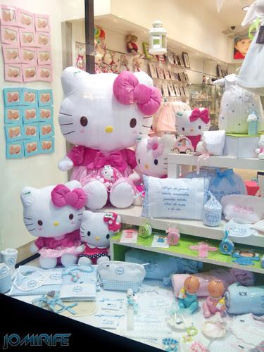 Loja com bonecas Hello Kitty dolls no Foz Plaza Figueira da Foz