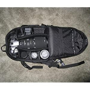 Canon Deluxe Photo Backpack 200eg For Canon Eos Slr Cameras Camera