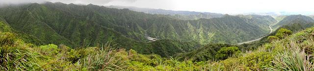 Aiea Ridge Pano 01-2