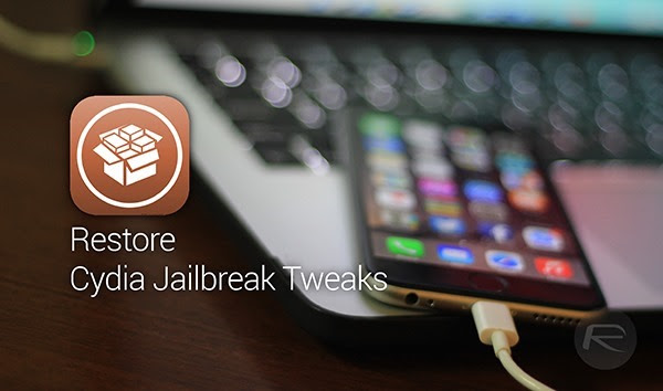 Restore Cydia tweaks main