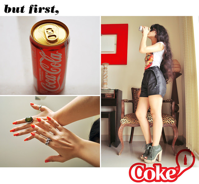 But First, Coke!