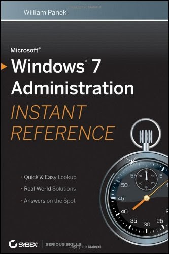 [PDF] Microsoft Windows 7 Administration Instant Reference Free Download