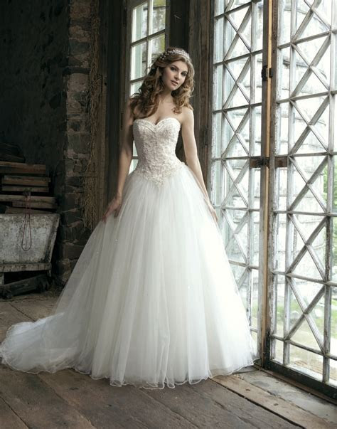 Dress & Gown: Magnificent Disney Wedding Dresses For