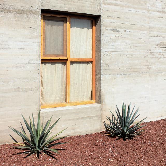Manolo's studio window