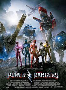 póster de la película de acción juvenil Power Rangers