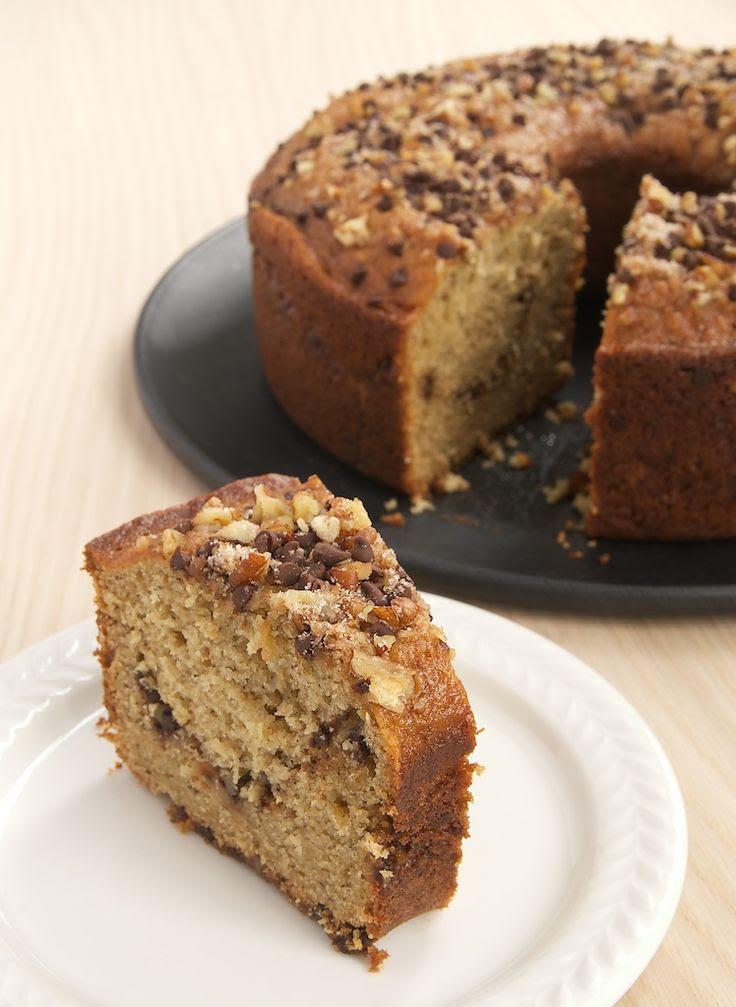 Sour Cream Banana Coffee Cake | Bake or Break