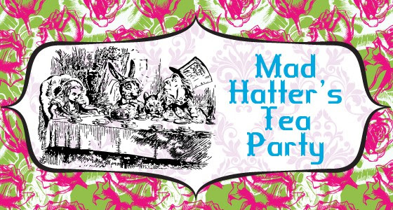 Mad Hatter Tea Party Free Printable Cupcake Toppers Fleece Fun