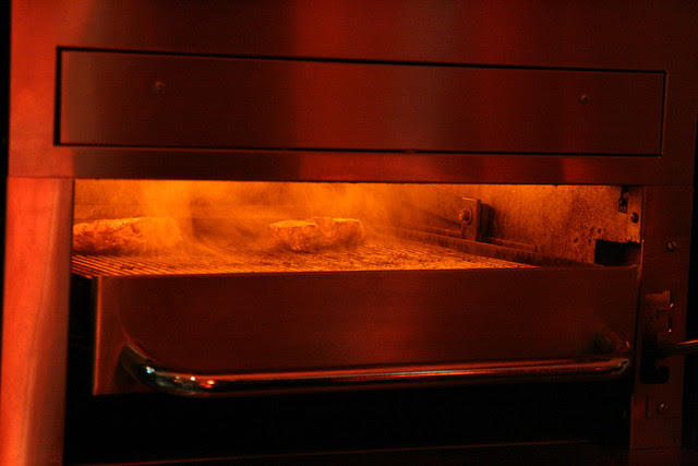 Burn, baby, burn, at 650 to 700 degrees C!