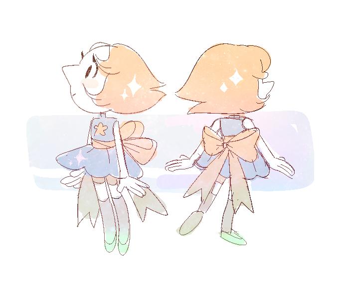 2 tiny pearls