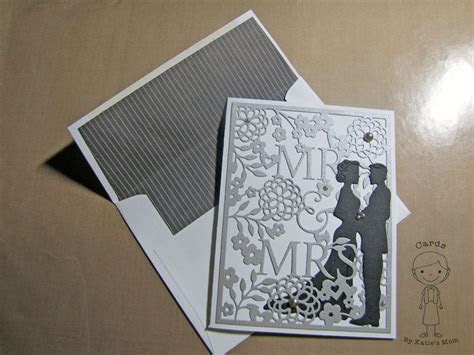 """Mr. & Mrs."" Wedding Card using Taylored Expressions"