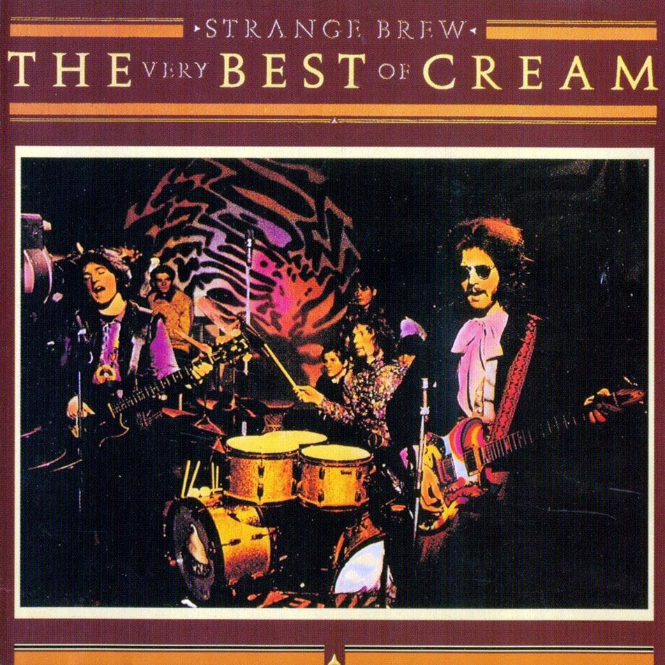 Carátula Interior Frontal de Cream - Strange Brew: The Very Best Of Cream