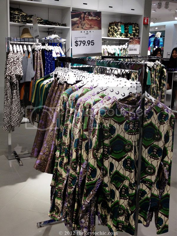 Marni at H&M African print