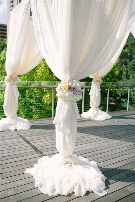 310 best images about Organza Draping Event Decor on
