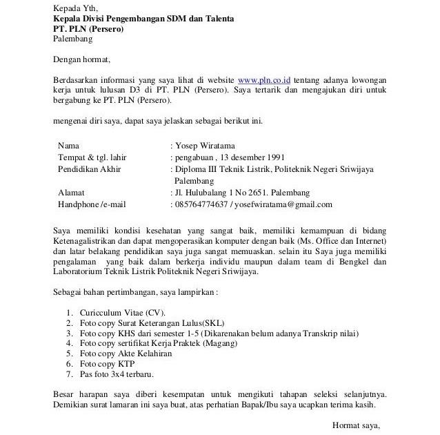 Contoh Surat Lamaran Kerja Nsc Finance Contoh Surat Lamaran