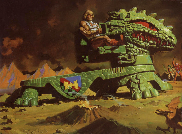 Masters Of The Universe - Dragon Walker (painting by William George)