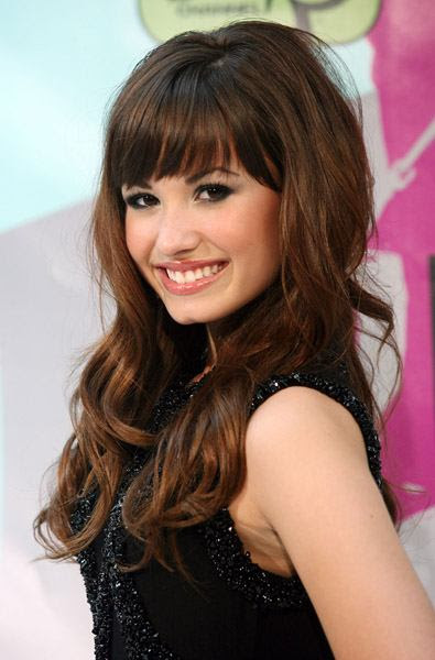 haircuts for long thick hair with bangs