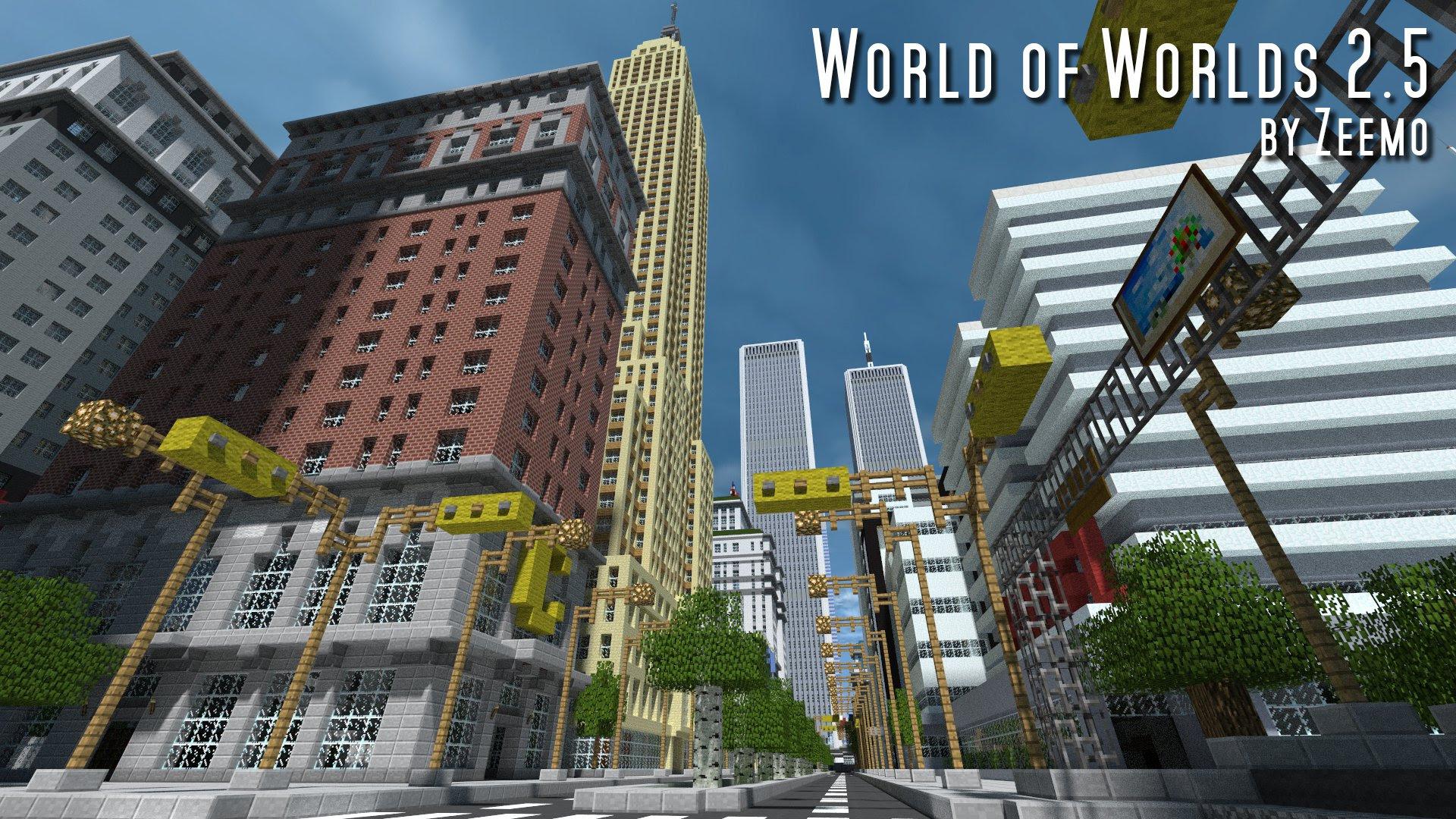 карта майнкрафт new world