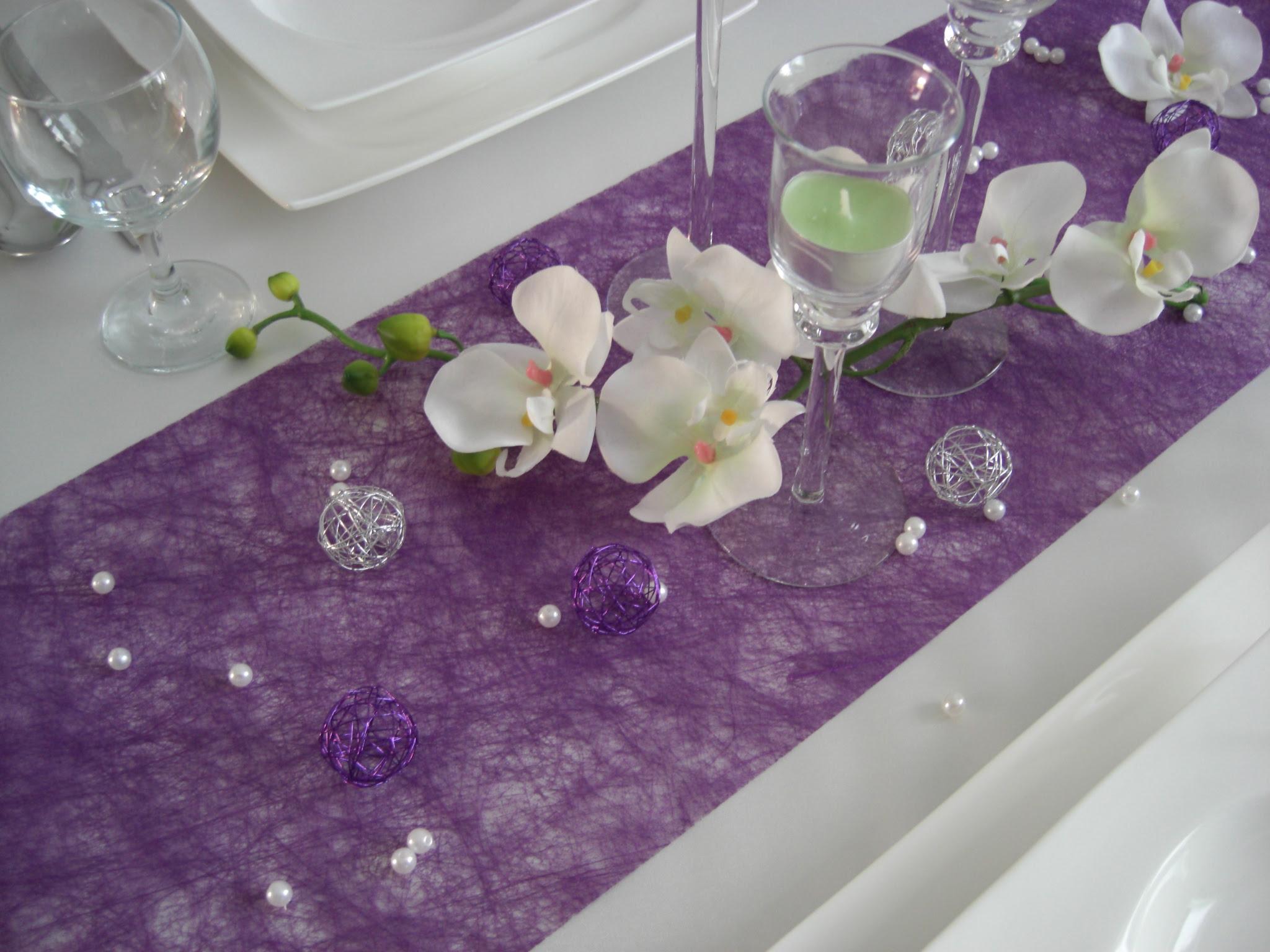 Tischdekoration Hochzeit Lila Free Cv Template