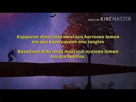 kata kata mutiara bahasa sunda sajak sunda youtube