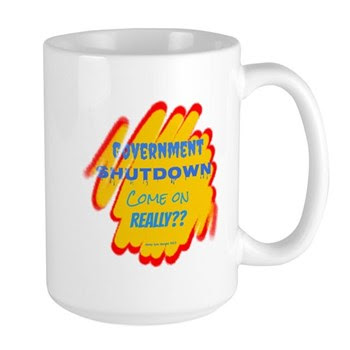 Government Shutdown Large Mug