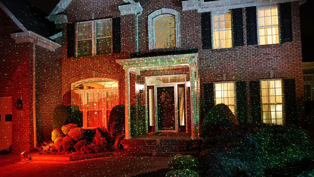 Amazon.com - Star Shower Outdoor Laser Christmas Lights, Star ...