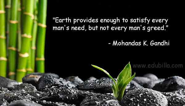 Environmental Quotes Educational Environmental Quotes