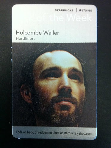 Starbucks iTunes Pick of the Week - Holcombe Waller - Hardliners