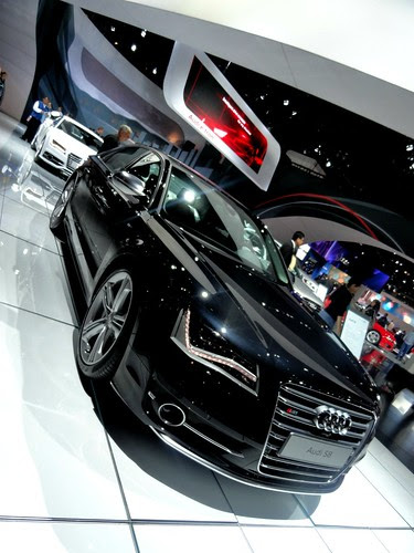 2012 Audi S8 at LA Auto Show