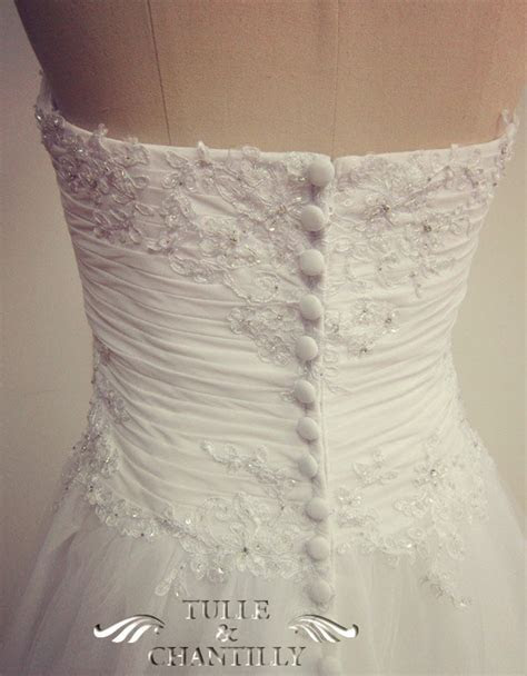 tulle wedding dresses   Tulle & Chantilly Wedding Blog