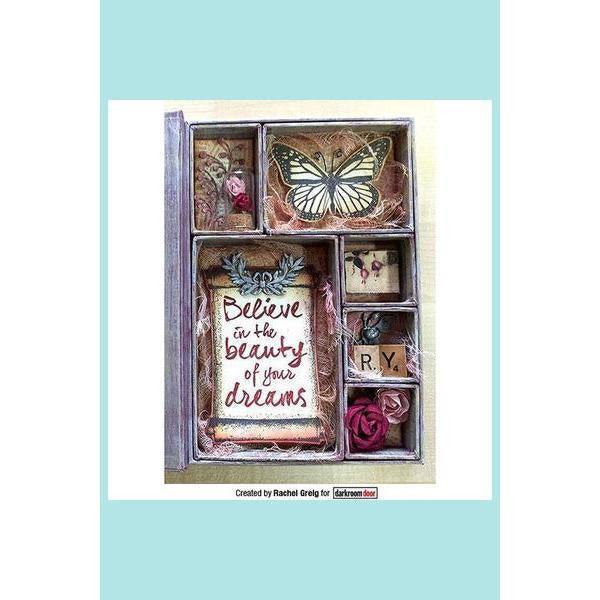 Darkroom Door Frame Stamp Scroll Arts And Crafts Supplies Online